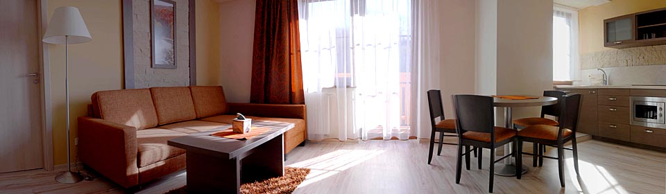 Pension Sasanka year-round accommodation in apartments Snow Paradise Velka Raca Oscadnica Kysucke Beskydy Slovakia